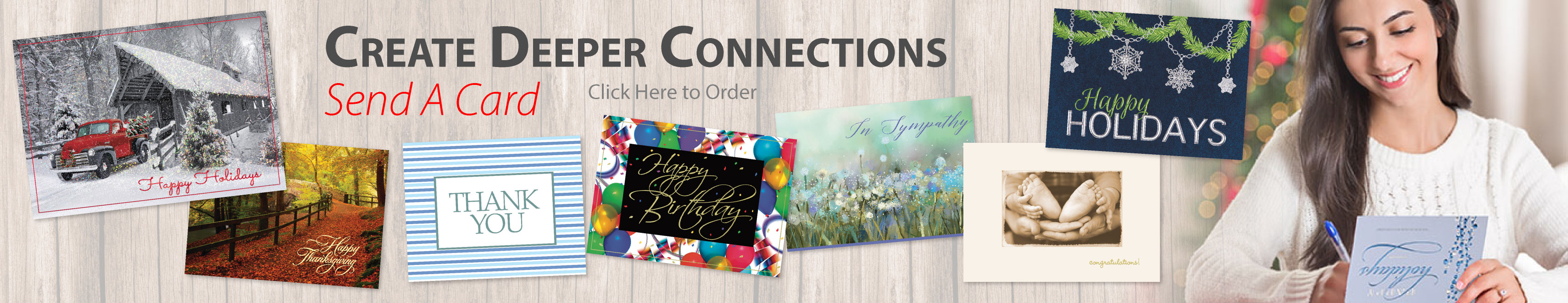New! Holiday Cards. Order Today!